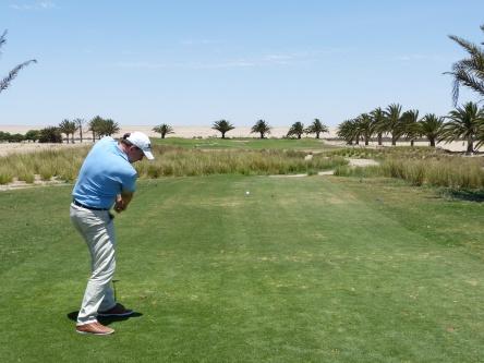 Golfen in Namibia