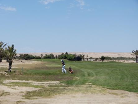Golfen in Swakopmund