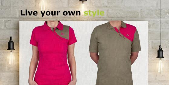 Leinwand mit denigo Shirts