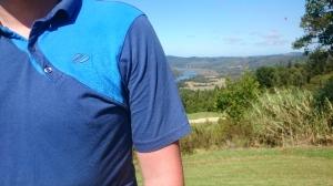Blick auf den Fluss im Golfclub Simola