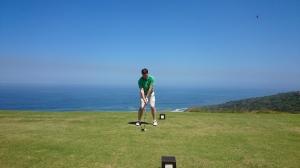 Abschlag 18 Oubaai Golf Club